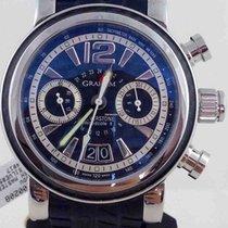 Graham Silverstone Woodcote II Chronograph GMT Watch