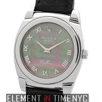 Rolex Cellini Cestello 18k White Gold Tahitian MOP Dial 1999...