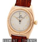 Rolex Oyster Perpetual Vintage Bubble Back 9k Rose Gold Circa...