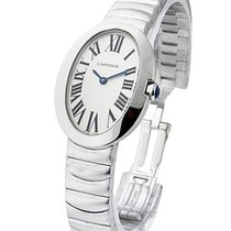 Cartier W8000006 Baignoire Small - White Gold on Bracelet with...