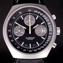 Dugena Monza Chronograph Handaufzug selten Valjoux 7765