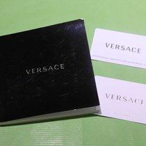 Versace vintage warranty card and booklet newoldstock