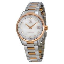 TAG Heuer Carrera Q Précieux White Mother of Pearl Dial Ladies...