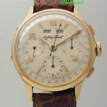 Tissot Chronograph Vollkalender 14k Gold