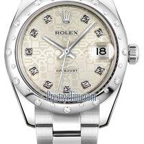 Rolex Datejust 31mm Stainless Steel 178344 Jubilee Silver...