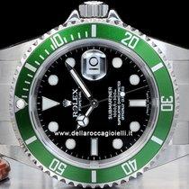 Rolex Submariner Date Green Bezel 50th NOS  16610LV