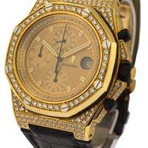 Audemars Piguet Yellow Gold Offshore with Aftermarket Diamond...