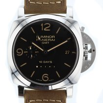 Panerai Luminor 1950 10 Days GMT Automatic Acciaio  Mens Watch...