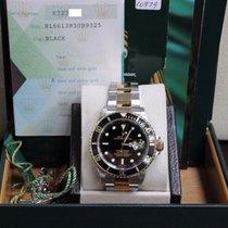 勞力士 (Rolex) Submariner 16613 Black 18K Yellow Gold & ...