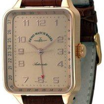 Zeno-Watch Basel Square Spezial Pointer Date Rose