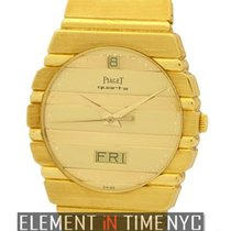 Piaget Polo Day-Date 18k Yellow Gold Circa 1995 Ref. 15562C701