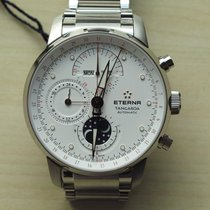 Eterna . Eterna Tangaroa Mondphase Chronograph NEW FULL SET