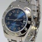 Rolex Midsize Pearlmaster 18k White Gold & Diamonds Watch...