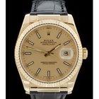Rolex Datejust Ref. 116138 - 18.K.Gelbgold - Box/Papiere -...