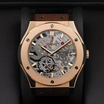 Hublot - Classic Fusion Ultra Thin Skeleton Rose Gold -545.OX....