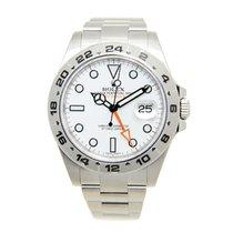 ロレックス (Rolex) Explorer II Stainless Steel White Automatic...
