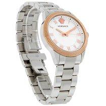 Versace V Sport Ladies MOP Rose Gold Swiss Quartz Watch...
