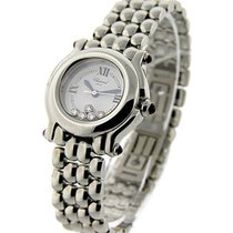 Chopard 278236-3005 Happy Sport Round - Medium Size Steel on...