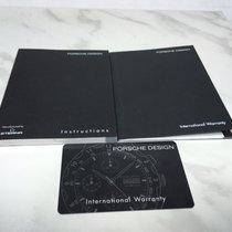 Eterna Porsche Design Bedienungsanleitung + Garantiekarte blanco