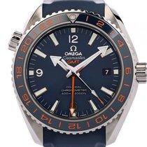 Omega Seamaster Planet Ocean GMT Good Planet Foundation Stahl...