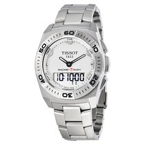 Tissot Racing Touch Silver Dial Mens Watch T0025201103100