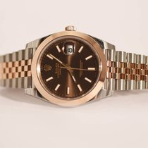 Rolex Date Just II 41 126301 Chocolate