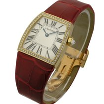 Cartier WE600251 La Dona de 28mm in Yellow Gold with Diamond...