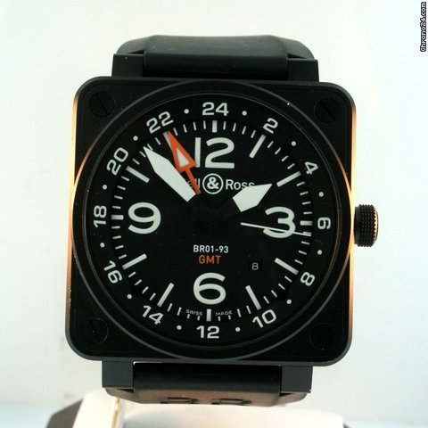 Bell & Ross BR01-93 GMT Pre-owned