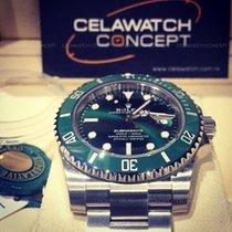 勞力士 (Rolex) Submariner 116610LV Green Ceramic Bezel Dial