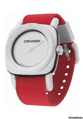 Converse 1908 White/Red Bracelet Watch