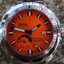 Doxa Sub 4000T Diver Taucheruhr mit Powerreserve