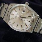 Rolex Oysterdate Date Watch Silver