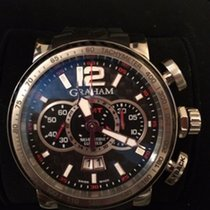 Graham Silverstone Luffield GMT Steel Flyback 48mm Limited