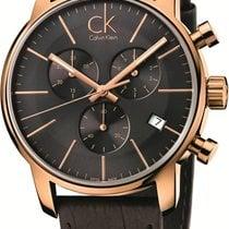 ck Calvin Klein City Chrono K2G276G3 Herrenchronograph Swiss Made