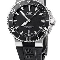 Oris Aquis Date Farbe Schwarz