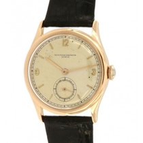 Vacheron Constantin 4073 Red Gold, Leather, 34mm