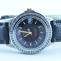 Breitling Sirius Perpetual Damen Uhr Stahl/gold Mit Brilliant...