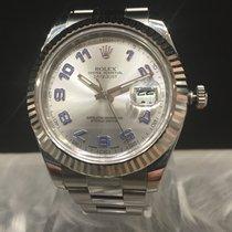勞力士 (Rolex) Oyster Perpetual steel white Gold Datejust II sticked