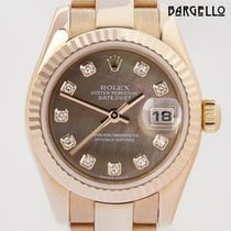 Rolex Datejust Lady Rosegold Diamond MOP Dial