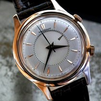 Jaeger-LeCoultre Oversize Solid 18ct Rose Gold Memovox