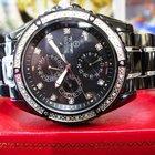 Bulova Marine Star 98e003 Diamond Bezel Markers Chronograph...