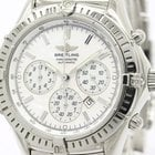 Breitling Shadow Flyback Chronograph Mop Dial Watch A35312...