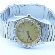 Ebel Classic Wave Damen Uhr 1911 28mm Quartz Stahl/gold...