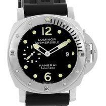 Panerai Luminor Submersible 44mm Steel Mens Watch Pam024 Pam00024