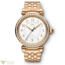 IWC Da Vinci 36 Red Gold and Diamonds Automatic Lady's...