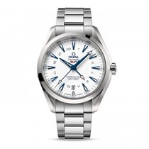 Omega Seamaster Aqua terra Automatic 24 HS GMT Date Mens watch...