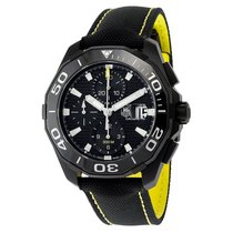 TAG Heuer Aquaracer Black Dial Auotomatic Mens Watch CAY218A.F...