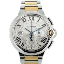 Cartier Ballon Bleu Chronograph Steel
