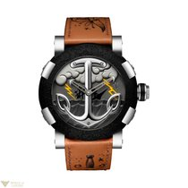 Romain Jerome Tatoo-DNA Stainless Steel Men's Watch
