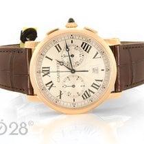 Cartier NEU -40% Cartier Rotonde Men Chrono W1556238 Rotgold ø...